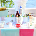 Banana Split Ice Cream Party Bar