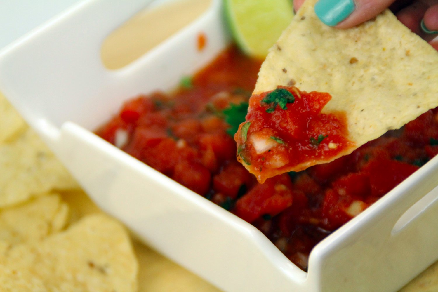 Homemade Restaurant Style Salsa Recipe Southern Couture