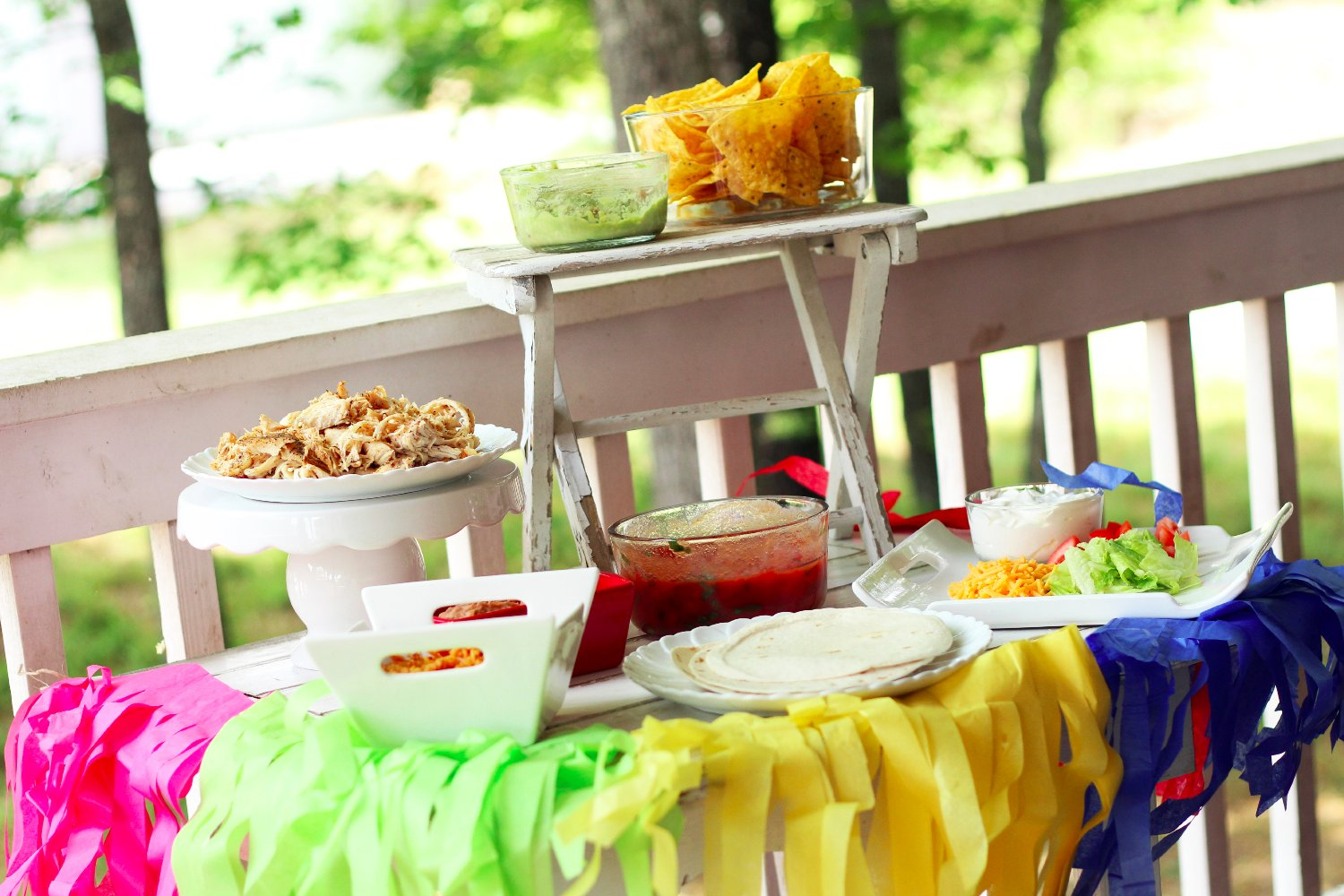 Taco Bar Party Ideas - Southern Couture