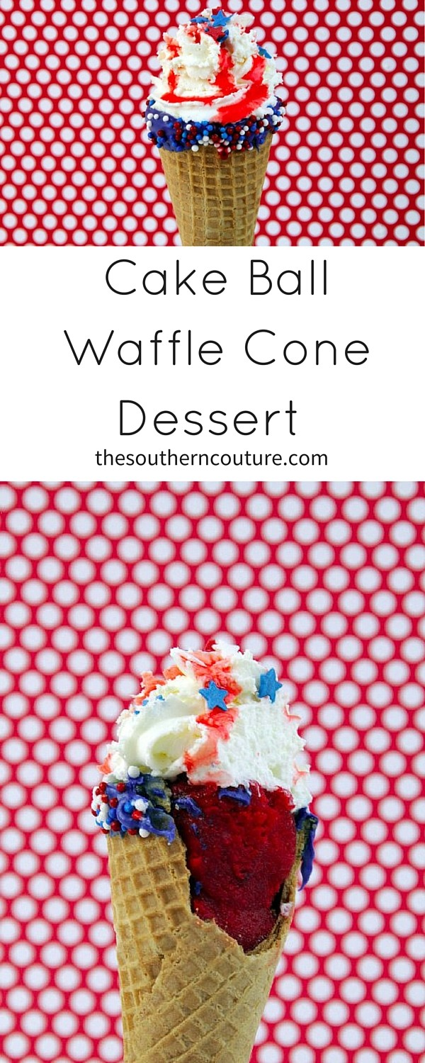 The kids will LOVE making and eating these Cake Ball Waffle Cone Desserts that are PERFECT for any party. Get the full recipe NOW!