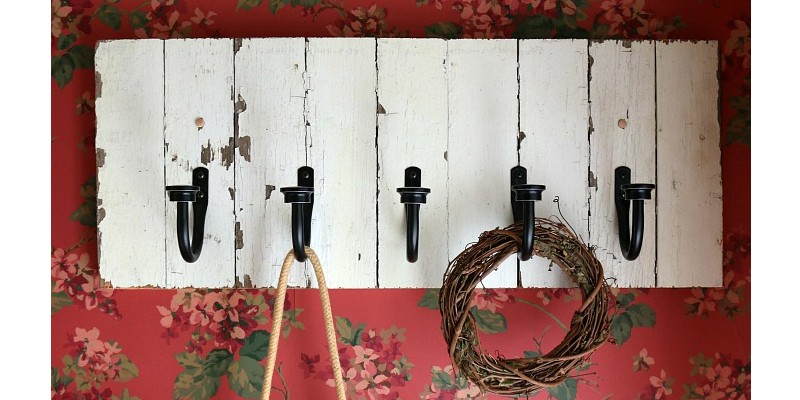 Farmhouse Style Coat Rack Southern Couture