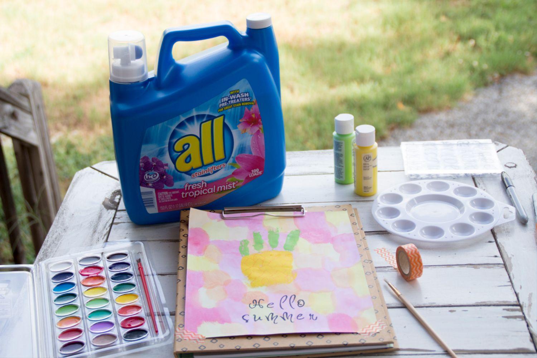 Summer Pineapple Hand Painting
