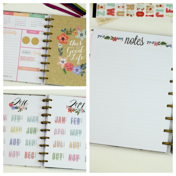 tips for back to school planner organization southern couture