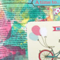 Vintage Bicycle Printable for Bible Journaling
