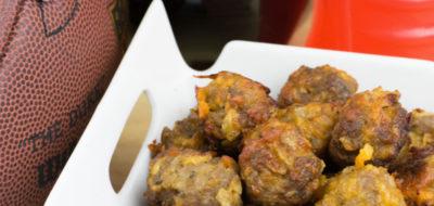 Cheesy Jalapeno Sausage Balls