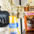Fall Themed Coffee and Creamer Station