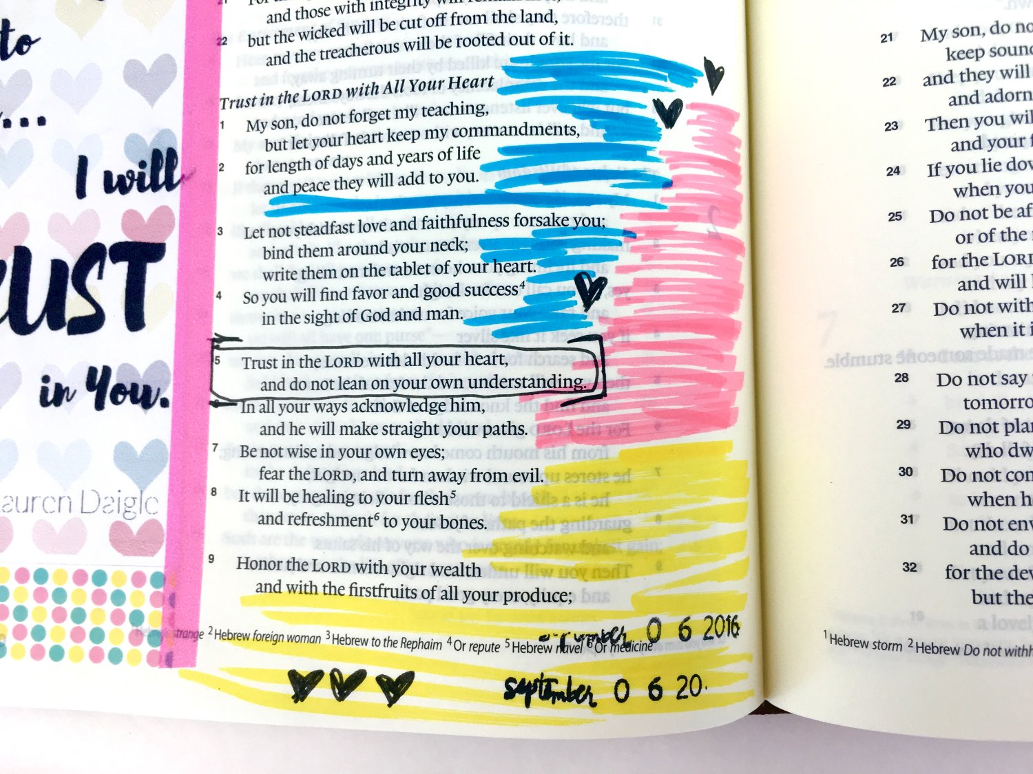Song Lyrics Printable for Bible Journaling