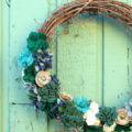 Felt Succulent Wreath