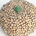 DIY Wood Slice Pumpkins