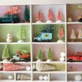 Miniature Christmas Tree Display