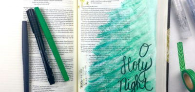 Spend some time meditating on the Word during this Christmas season by illustrating advent in your journaling Bible. Check out this Christmas Bible journaling entry with gelatos tutorial now.