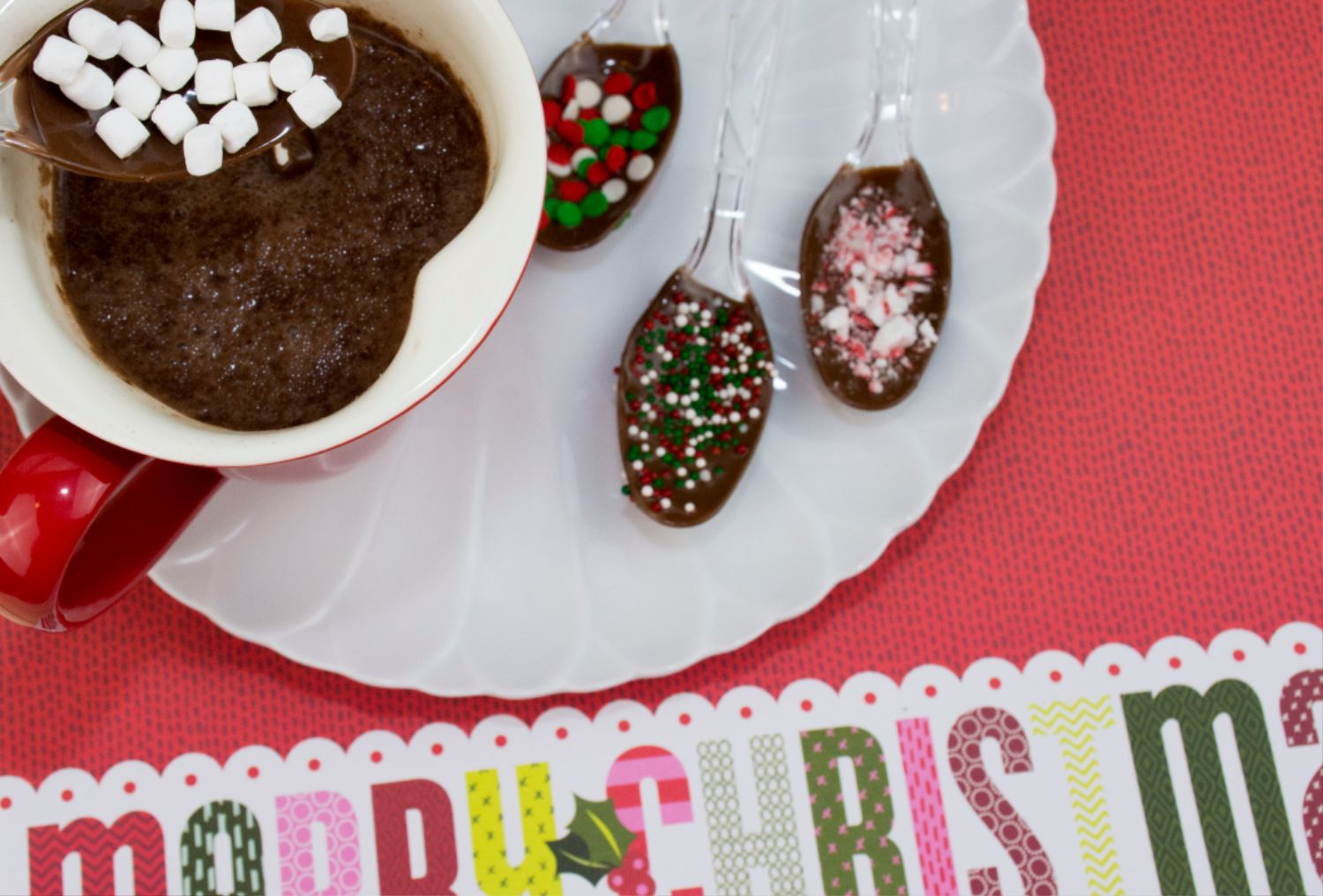 Decorative Hot Cocoa Spoons