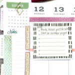 Using a Planner to Organize and Balance Everyday Life