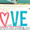 Love Bible Journaling Entry with Free Printable