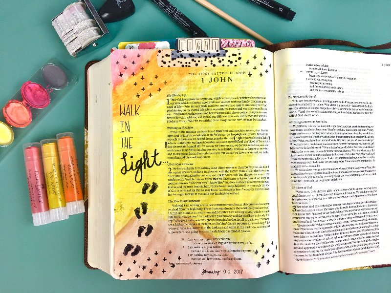January Bible Journaling Challenge