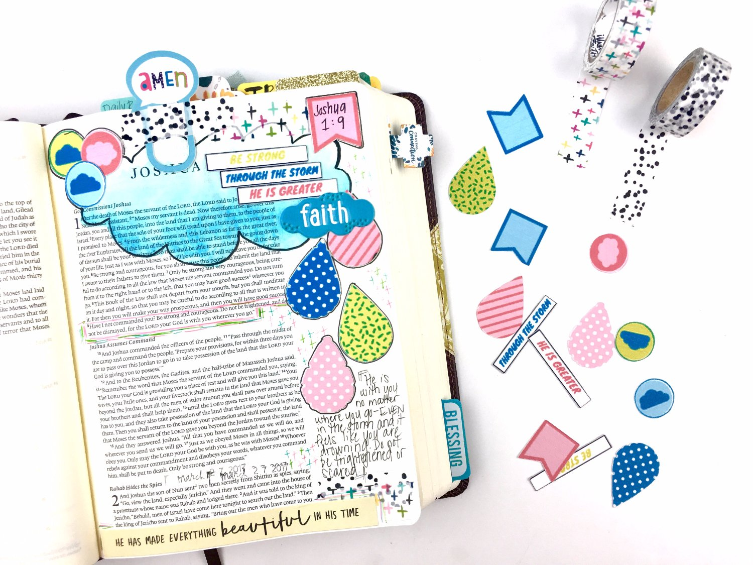 April Bible Journaling Challenge Plus FREE Printable