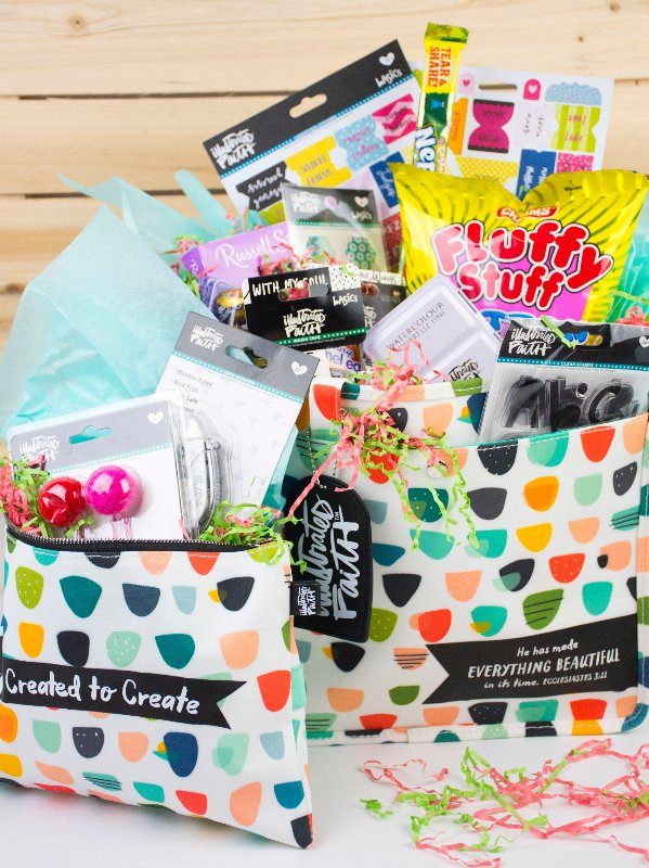 Non-Traditional Easter Basket Idea for Bible Journaing Fans