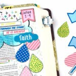 How to Use Watercolors in a Journaling Bible