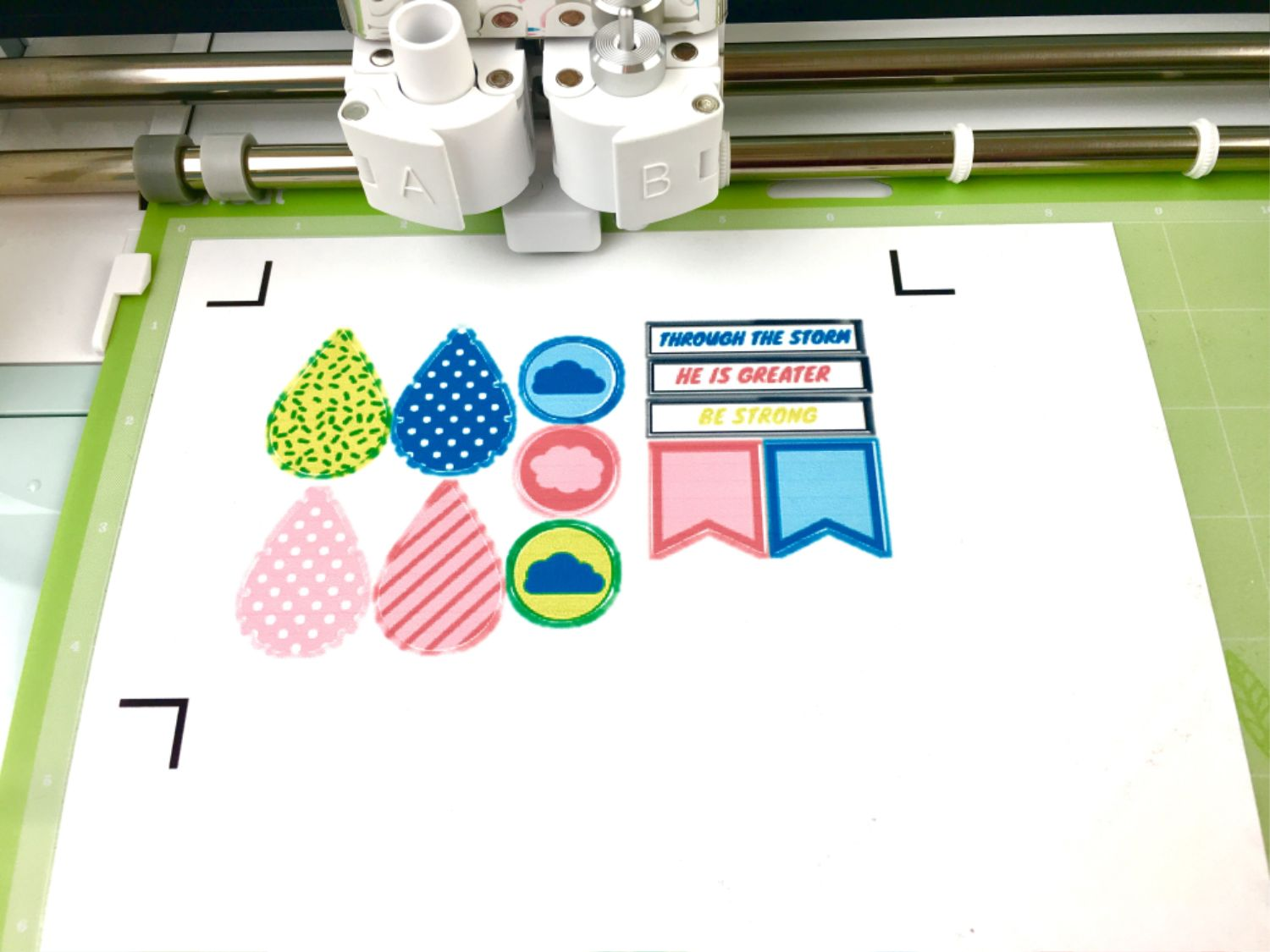 using the print then cut feature with cricut explore air 2 plus free