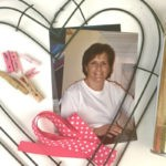 Remember Mom this Mother's Day with a Heart Shaped Photo Wreath
