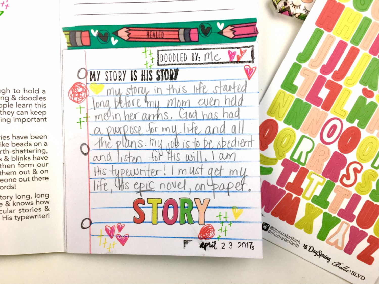 Tips for Bible Journaling No Matter the Artistic Skill Level