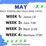 May Bible Journaling Challenge Plus FREE Printable