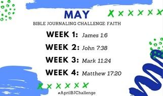 May Bible Journaling Challenge Plus Free Printable