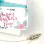 Mother's Day Gift Idea Plus Free Printable Gift Tag