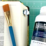 Prepping Bible Journaling Pages with Gesso
