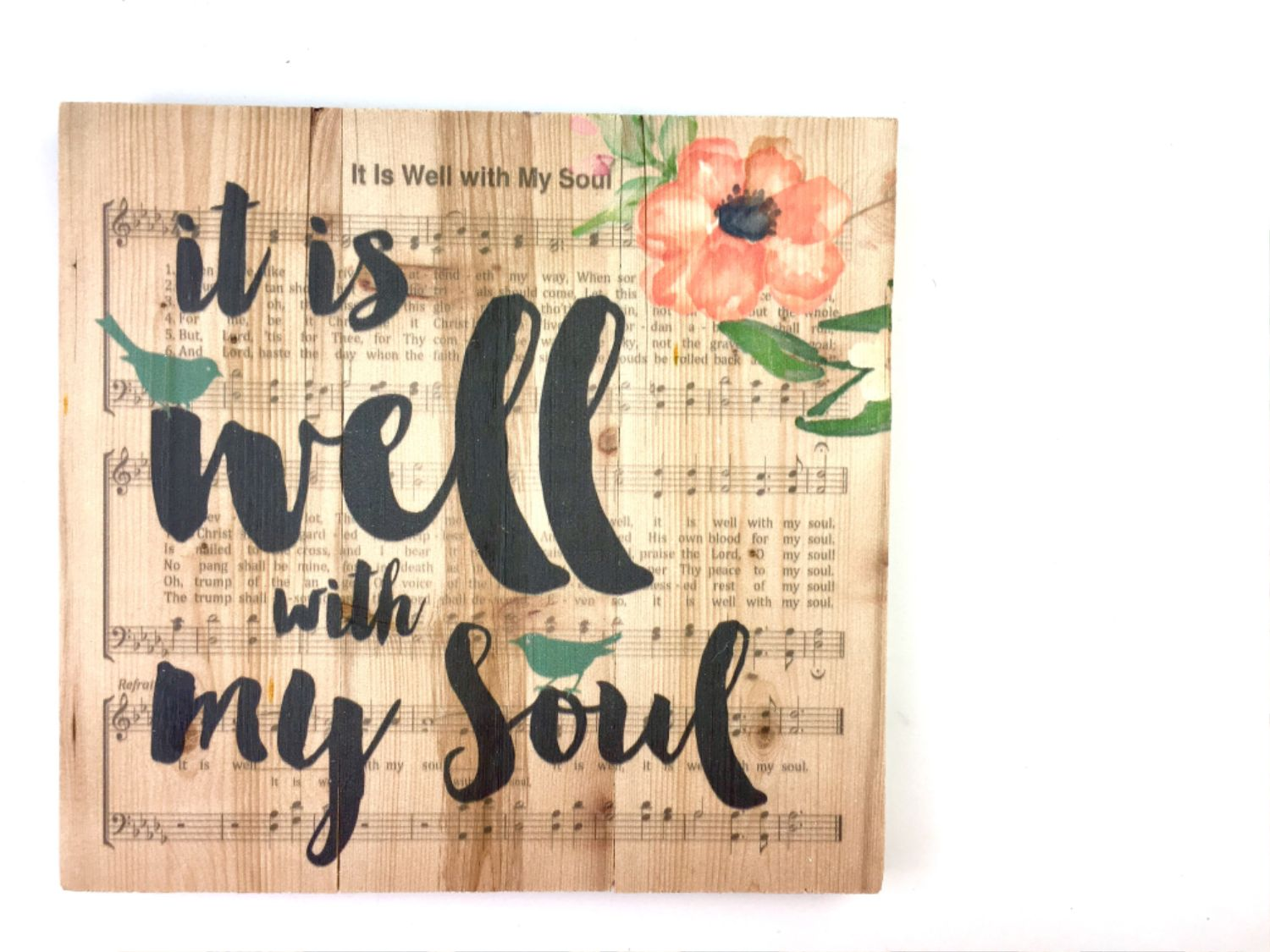 Bible Journaling Ideas Using Hymnal Book Pages