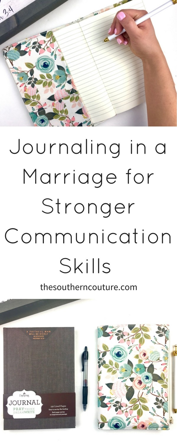 If you are wanting to work on your marriage or any relationships, try journaling in a marriage for stronger communication skills with this lovely idea which also makes for a perfect wedding or anniversary gift. Check out this idea NOW to get started.
