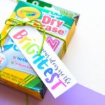 Back to School Gift Idea with Printable Gift Tag