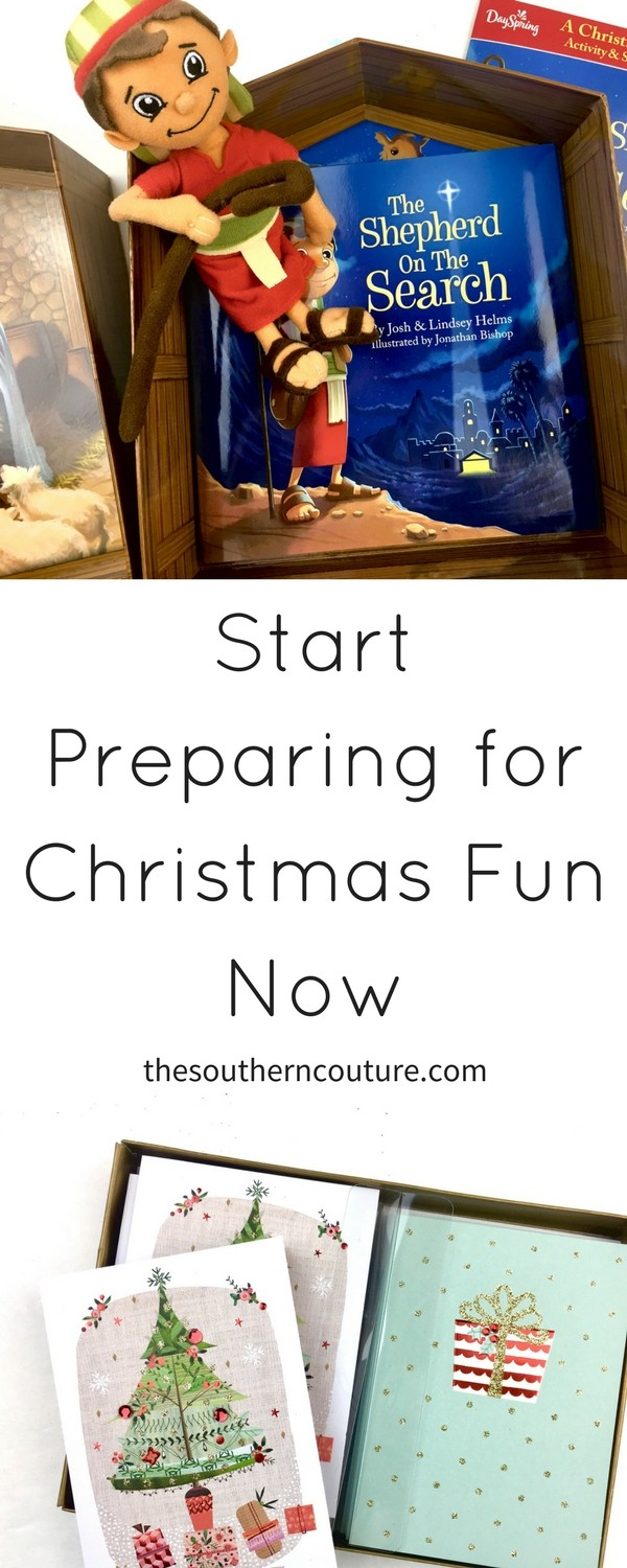 It is never too early to prepare for Christmas so why not start now with some early shopping and planning to kick off the celebration. Check out these goodies to share with your family today.