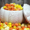 Colorful Candy Corn Recipe for Halloween