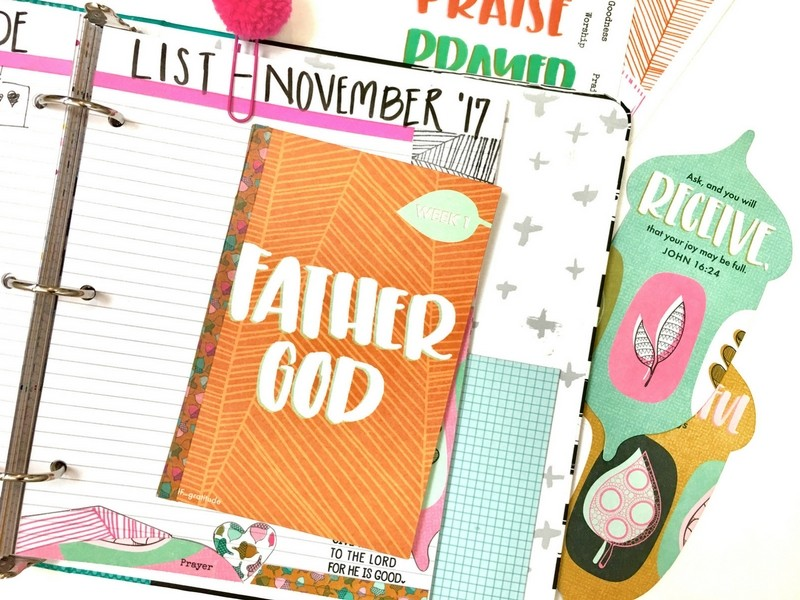 Counting Daily Blessings During November with Gratitude Devotional Kit