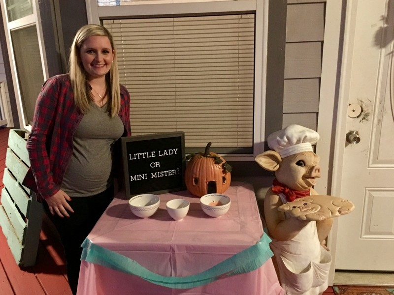 Come Find out if Little Pumpkin is a BOY or a GIRL
