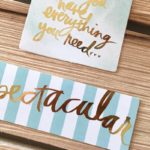 My Favorite Things Craft Edition with the Heidi Swapp Minc Machine