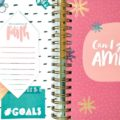 Using a Planner and Illustrated Faith Devotional Kit to Track Goals